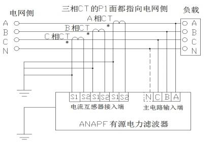 有源电力滤波器接线