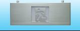 单面安全出口指示标志灯